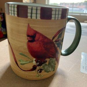Lenox Winter Greetings Everyday Mug/Cup CARDINAL C